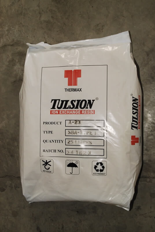 Tulsion ION Exchange Resin A-23