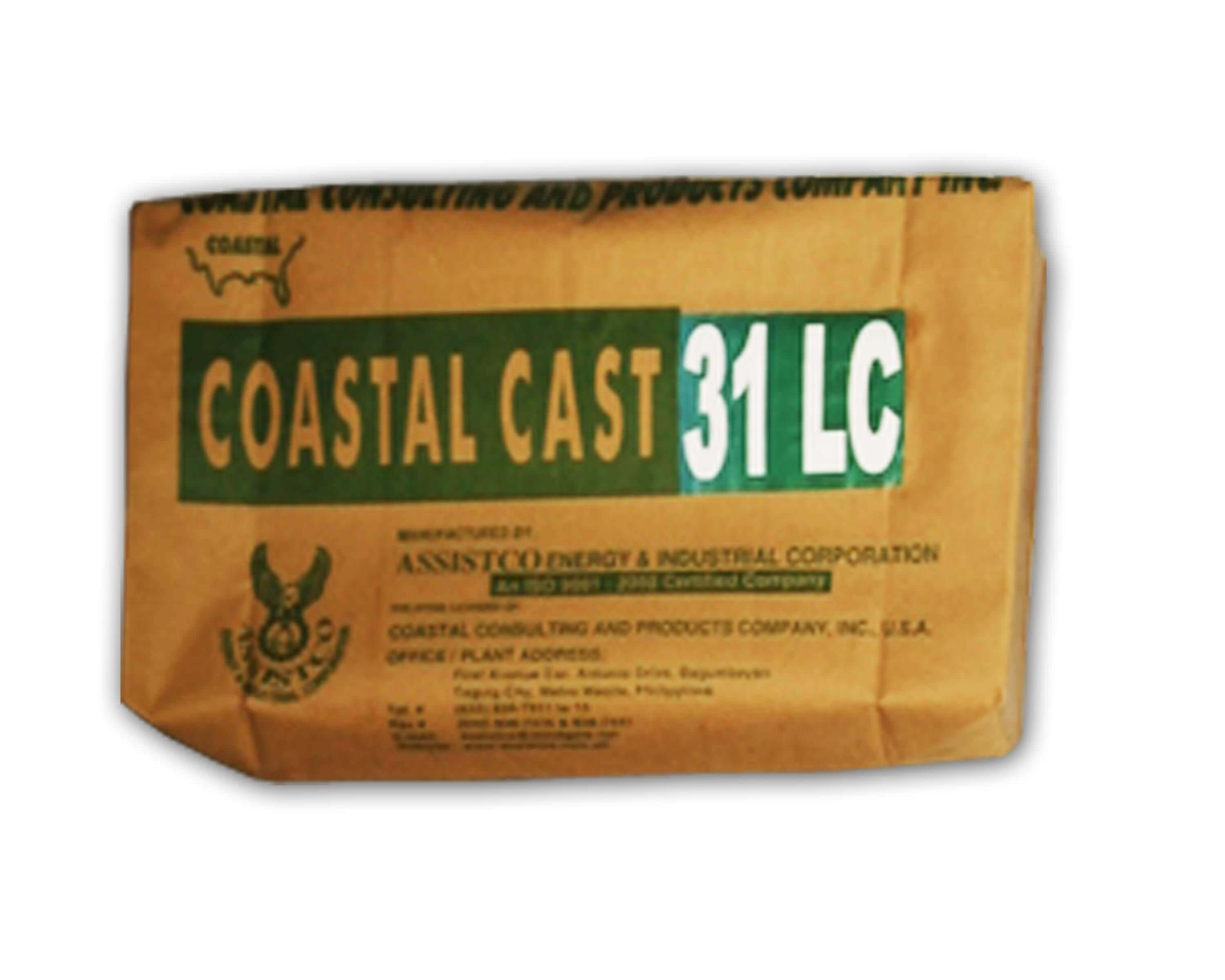 Coastal Cast Silicon Carbide (SC) Low Cement Cast