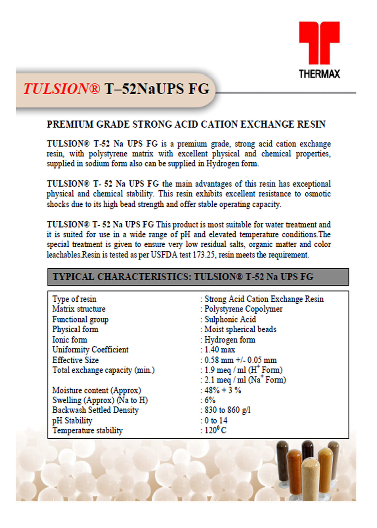 Tulsion T-52 NaUPS FG
