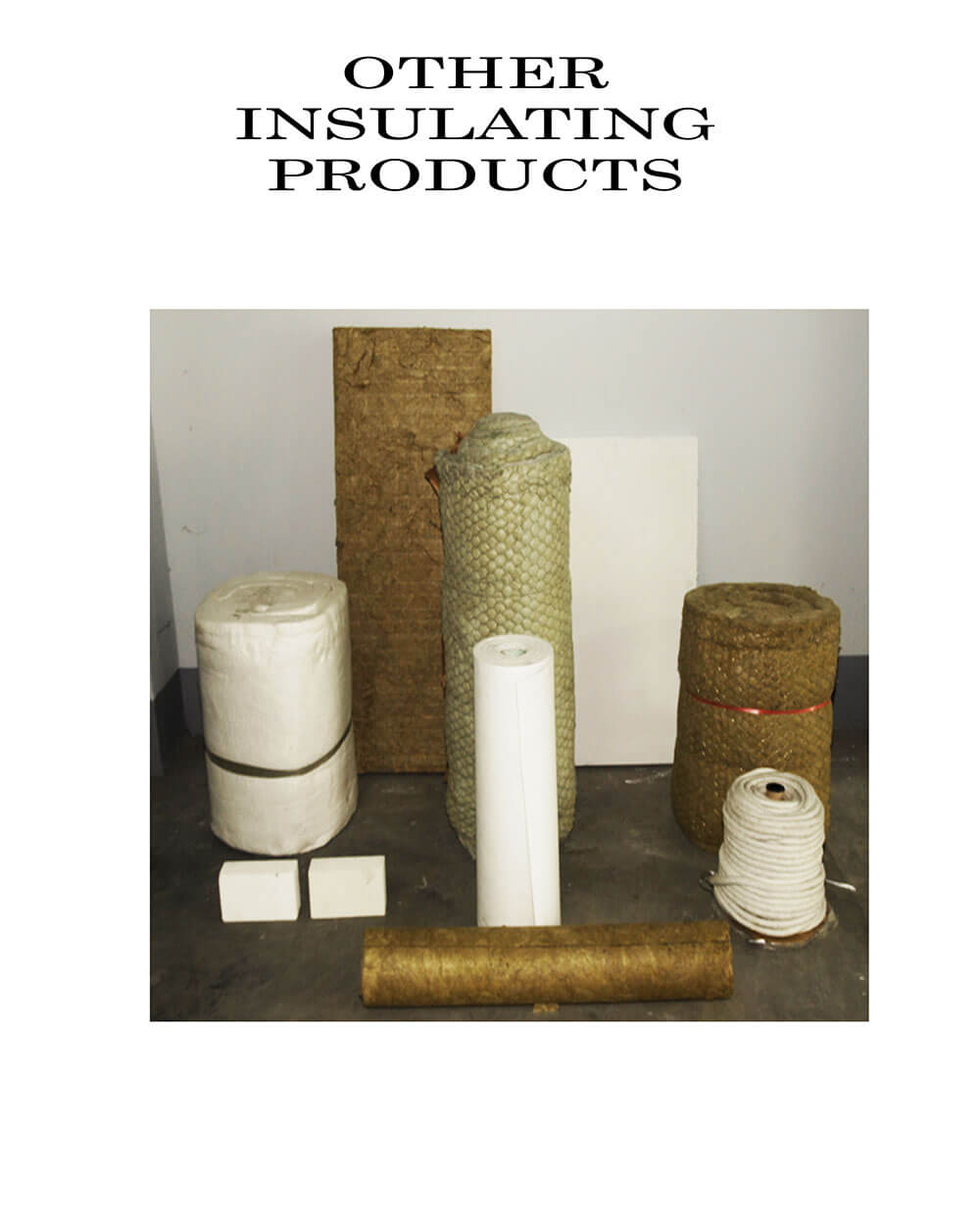 Other Insulating Products